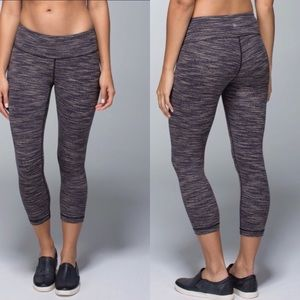 Lululemon Wunder Under Crop Wee Are From Space